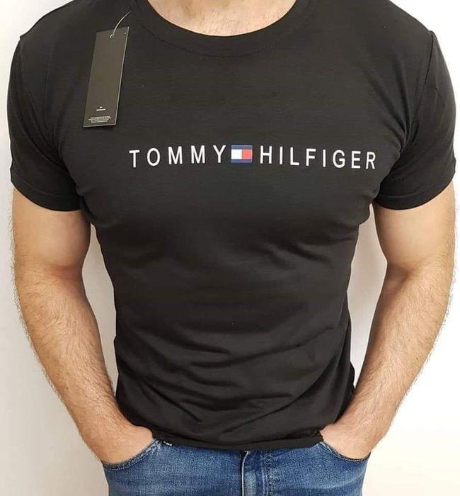 Nowy t-shirt męski czarny Mieszków - image 1