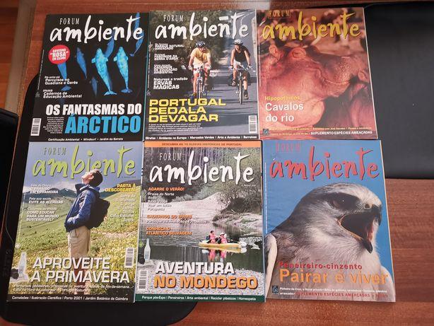 Revistas Fórum Ambiente