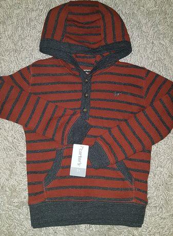 Carters 5T худи толстовка кофта реглан свитер