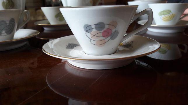 Serwis kawowy porcelana Chodzież okazja