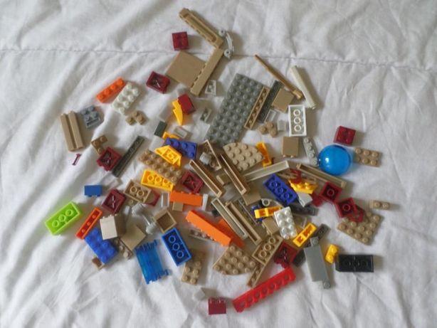 Lote de peças da Mega blocks (compatíveis com Lego)