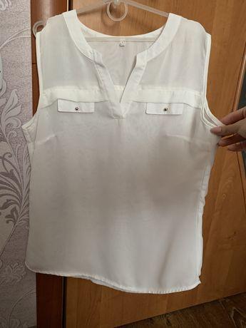 Женская блузка белая