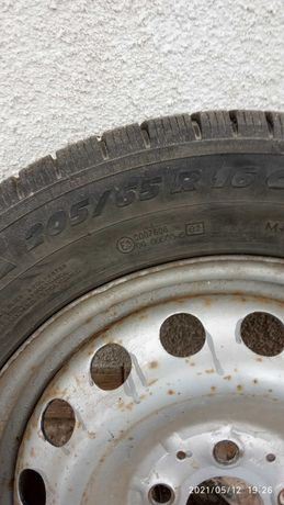 205/65/16С Michelin Agilis Мишелин 1шт ЗИМА Розпаровка одиночка