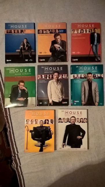 DVD - Dr House - serial kompletny
