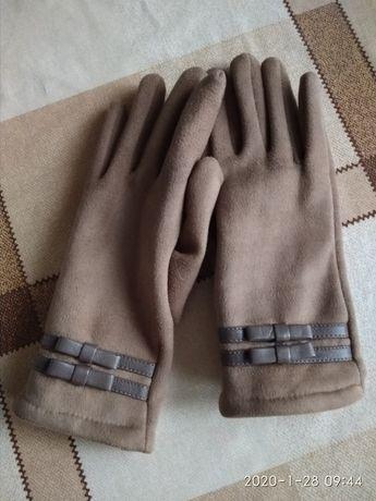 Кашемировые перчатки