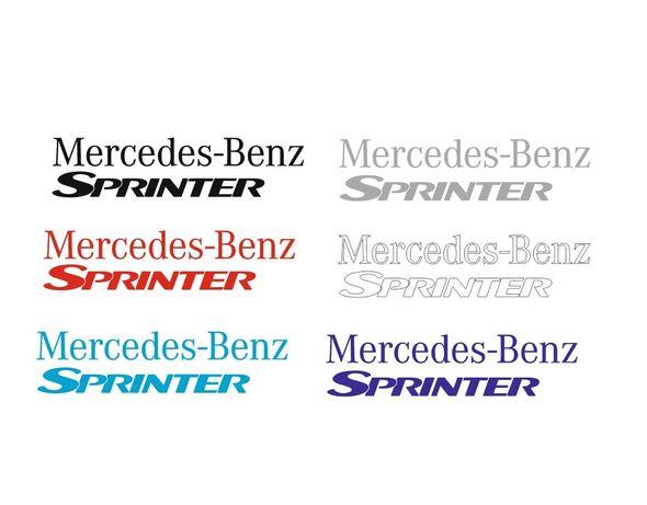 Наклейки Мерседес спринтер шильдик эмблема Mercedes sprinter