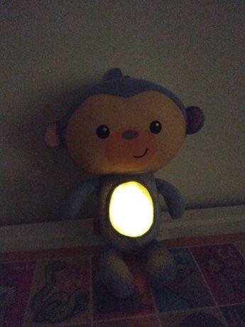 Małpka fisher price -przytulanka z kolysankami
