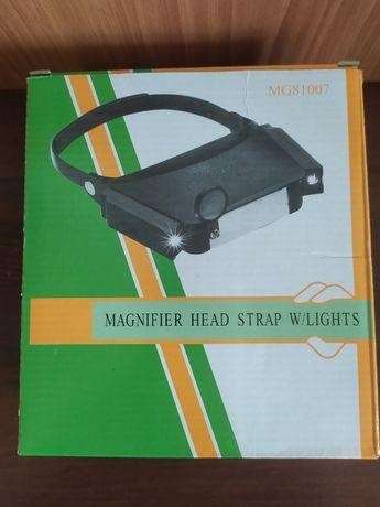 Бинокуляр очки бинокулярные с подсветкой MG-81007