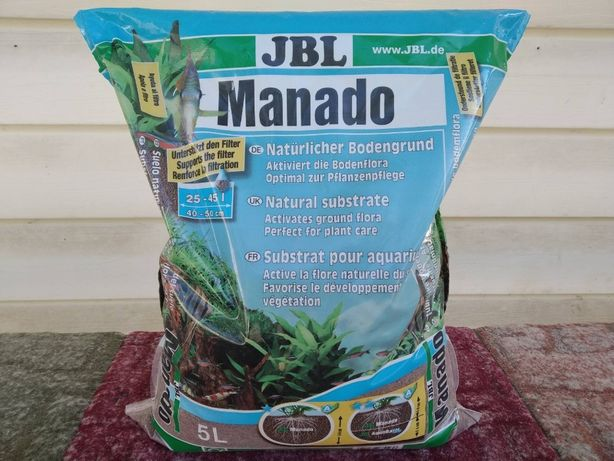 Грунт JBL Manado 5, 25 л и Monado 5 л Dark!