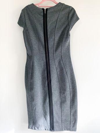 Sukienka ołówkowa H&M r.S zamek z tył