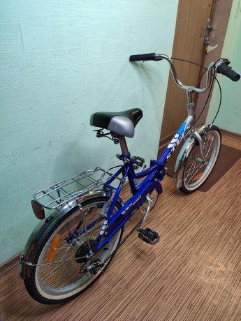"""20"""" колёса складной велосипед Stels на скоростях 110 - 170 см рост"""