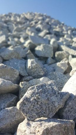 Kamień szary granitowy do gabionów, do ogrodu. 7-15 cm