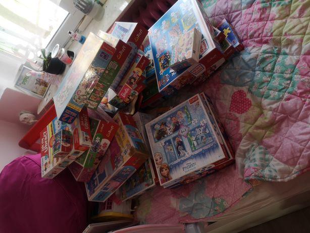 Gry,  puzzle, książeczki