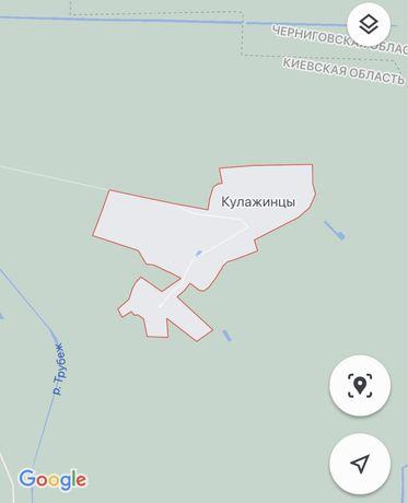 Земельна ділянка (під забудову) 25 соток с. Кулажинці