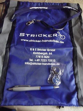 Worek plecak długopis smycz żeton