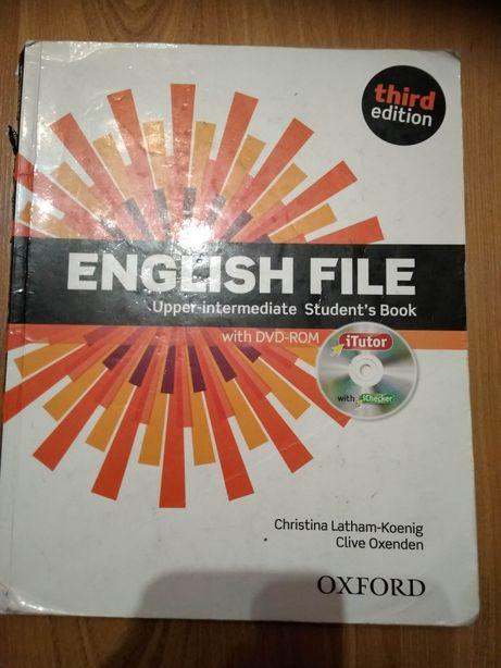 """""""English file Upper-intermediate"""" Podręcznik od angielskiego"""