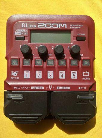 Multiefekt do basu ZOOM B1 Four