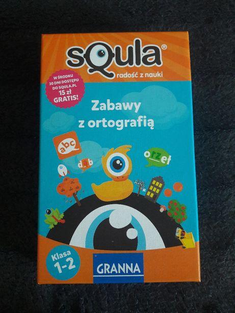 Granna Squla Zabawy z ortografią klasa 1- 2