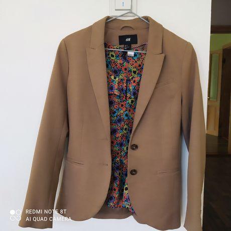 Пиджак H&M трикотажный, жакет кофточка, блузка