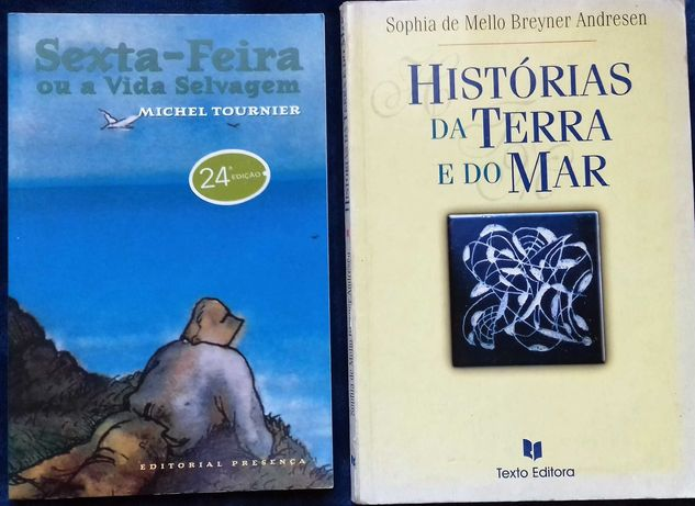 8º ano Historias da terra e do mar + Sexta-feira ou a vida selvagem