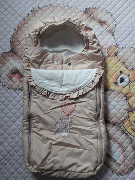 Конверт-мешок для новорожденного