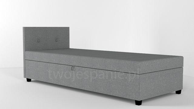 ŁÓDŹ Tapczan łóżko jednoosobowe z pojemnikiem na pościel . Dowóz!