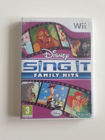 Gra Nintendo Wii Sing IT Family Hits
