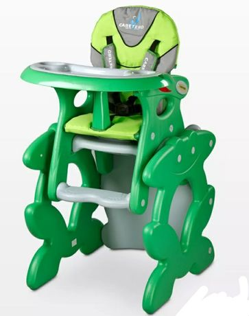 Krzesełko do karmienia 2w1 luB stoliczek skręcane z szelkami