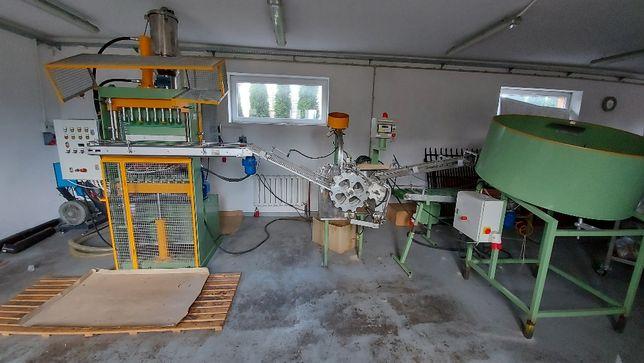linia do produkcji wkładów parafinowych/znicze
