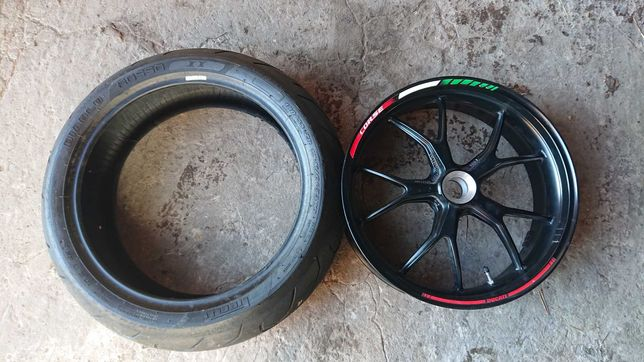 Felga tył Ducati Monster 796 gratis opona Diablo ROSSO II czesci