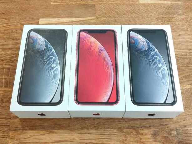 iPhone XR 64GB 128GB Czarny / Czerwony PL Dystrybucja SKLEP W-WA