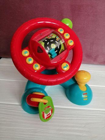 Подарок ребёнку на Новый год, руль, юный автогонщик, ELS