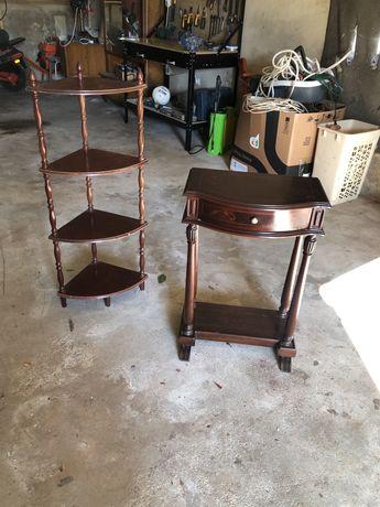 Móveis - Mesa / Estante usados