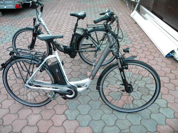 Kalkhof IMPULSE niemiecki Nexus 8 hydraulika rower elektryczny
