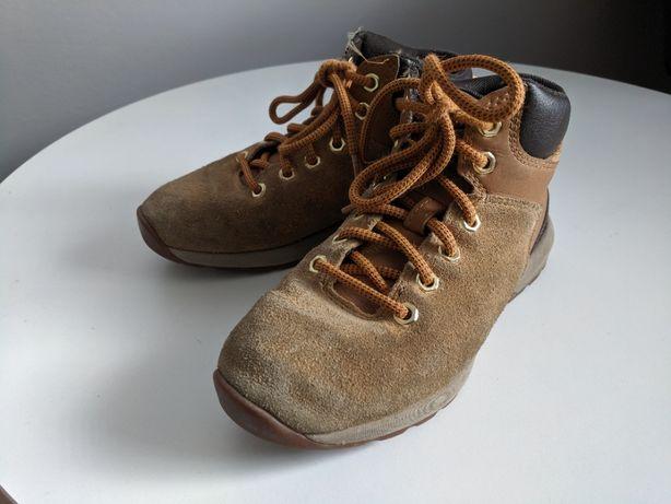 Buty, półbuty, trapery chłopięce r.33, Timberland, skórzane, okazja!