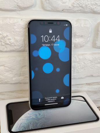 Iphone XR 128 Apple телефон смартфон белый оригинал новый айфон