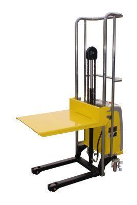 Stacker empilhador monta-cargas eléctrico capacidade 400 kgs e elevaçã
