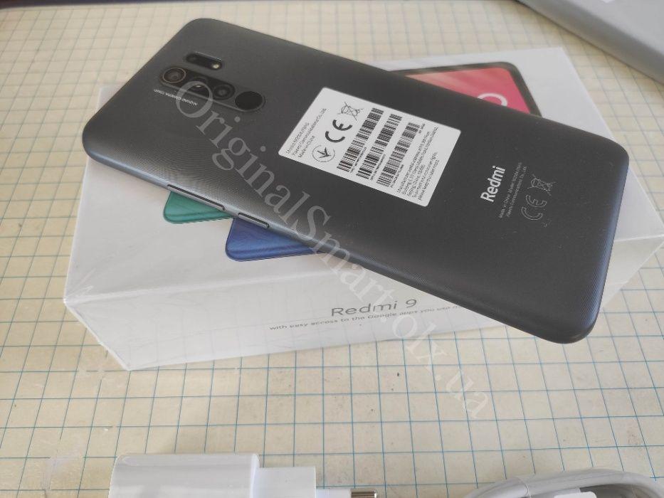 Xiaomi Redmi 9 NFC Global 3/32Gb 6.53''FullHD+ ГАРАНТИЯ чехол/стекло Харьков - изображение 1