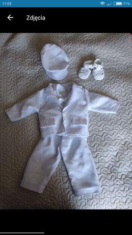 Ubranko do chrztu garniturek