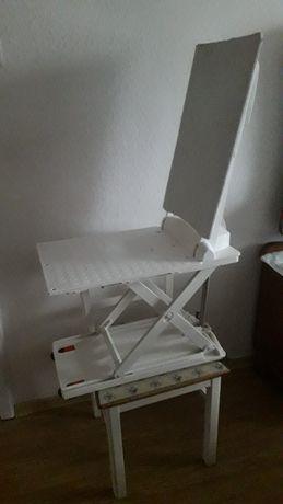 Krzesło do kąpieli dla niepełnosprawnych elektryczne