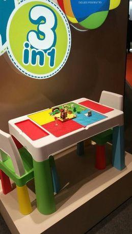 Дитячий ігровий столик та два стільці Tega Baby Mamut. Кольори є всі.