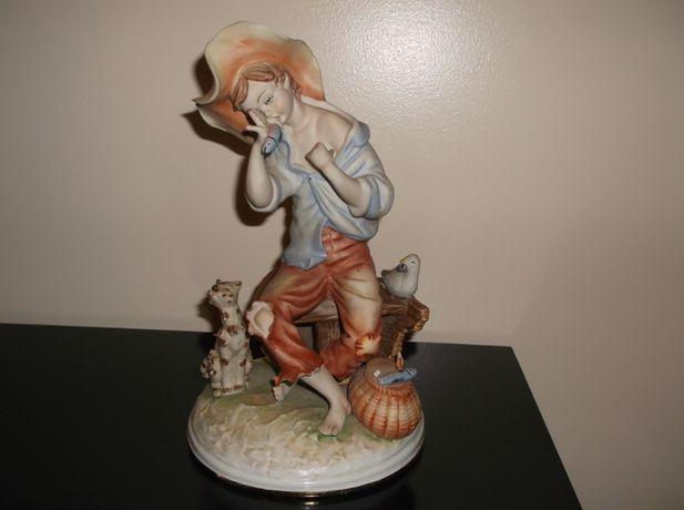 Figura do pescador em grafinite