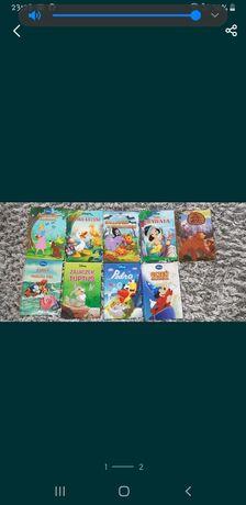 Ksiazki Disney 9 sztuk