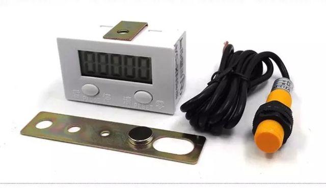 Индуктивный магнитный датчик, электронный счетчик, датчик приближения