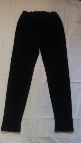 Лосины штаны брюки утепленные флисом девочке 146 152 158 рост