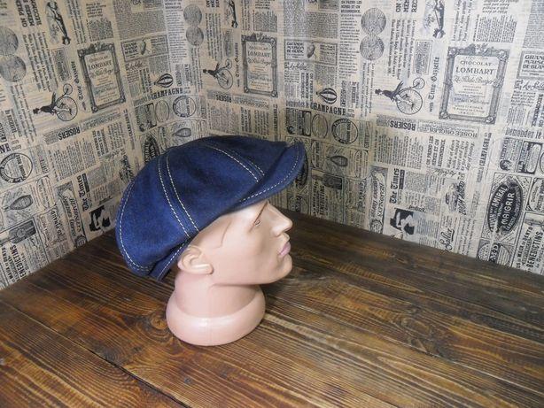 Джинсовые кепки ручной работы восьмиклинки хулиганка фуражка