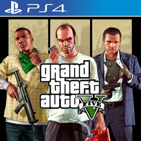 Grand Theft Auto V Игры PS4/PS5 Red Dead Redemption 2 Watch Dogs GTA 5