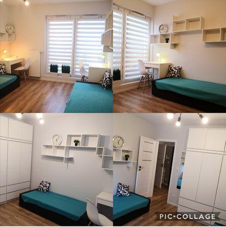 Pokój dla 2 osób od lipca, nowe mieszkanie 2 pokojowe, śródmieście
