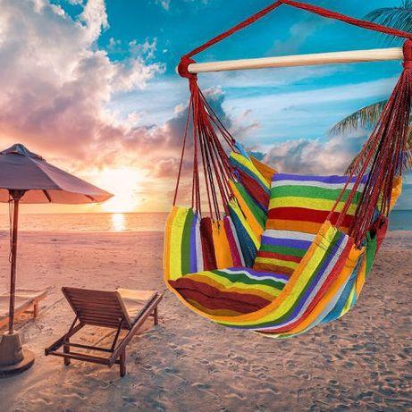 Krzesło brazylijskie wiszące hamak fotel wiszący