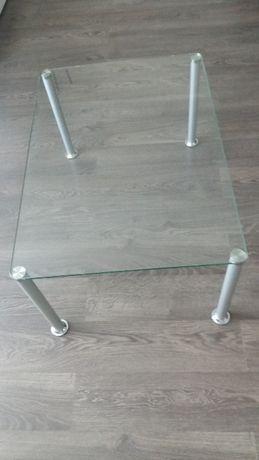 Stół szklany 55x80